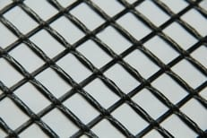 Grid for carbon reinforced concrete