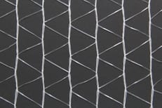 Open-meshed net made from polyethylene tapes