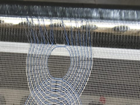 Production of the functional fabric on a KARL MAYER Multibar machine