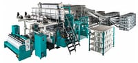 Composite machines for multiaxial textiles